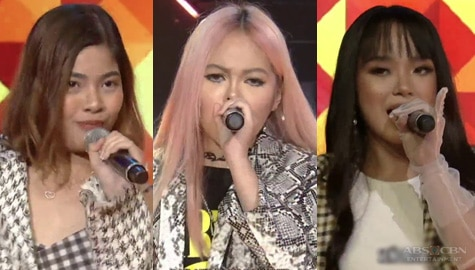 "Elha, Janine and Sheena go ""Bambambam"" on the ASAP Natin 'To stage Image Thumbnail"