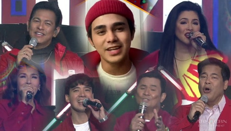 "Inigo Pascual collaborates with ASAP Natin 'To stars for a fresh rendition of ""Dahil Sa'yo"" Image Thumbnail"