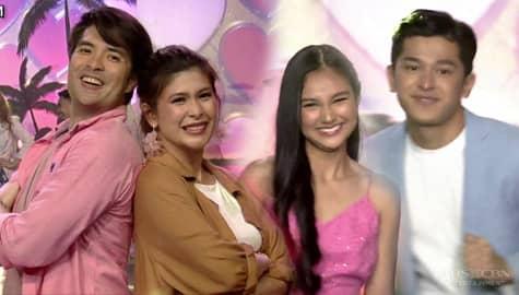 Joross Gamboa, Roxanne Guinoo, Karina Bautista and Aljon Mendoza spread kilig on ASAP Natin 'To Image Thumbnail