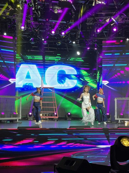 LOOK: AC Bonifacio's grand comeback on the ASAP Natin 'To stage