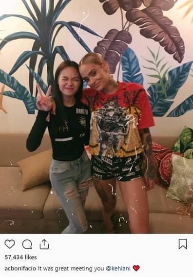 AC Bonifacio meets idols