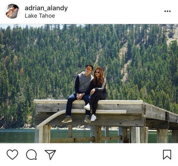 IN PHOTOS: Adrian Alandy with his beautiful partner in life