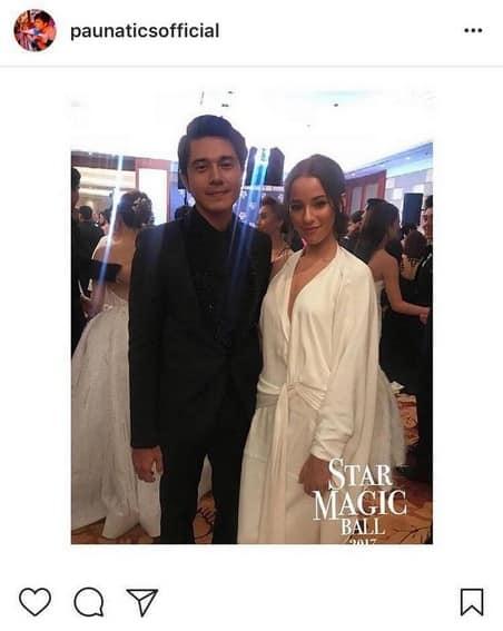 Paulo Avelino with his beautiful girlfriend
