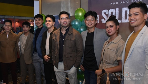 Soldier's Heart Special Screening and PressConagalona: From cute heartthrob to 'lion-hearted' soldier