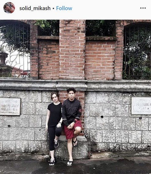 Nash Aguas Mika Dela Cruz relationship