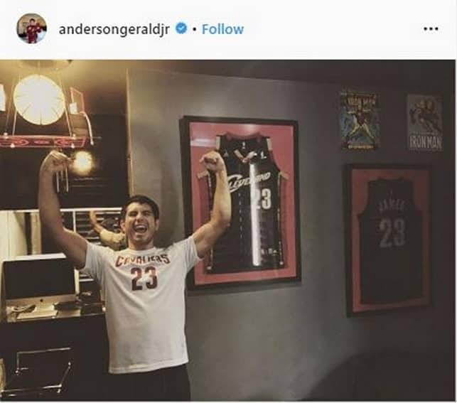 Gerald Anderson basketball actor
