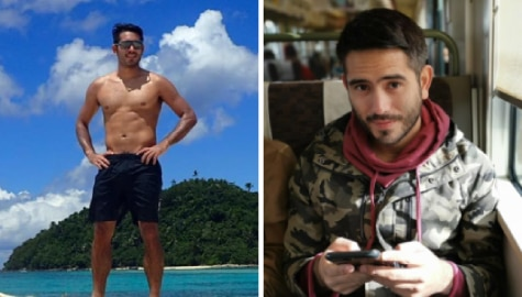 These photos of Gerald show that he's naturally blessed with good looks