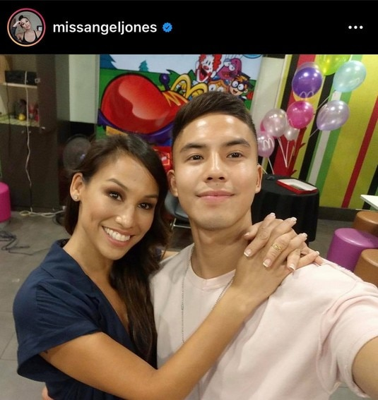 tony labrusca mother mommy parent Angel Jones ely Bagong Umaga