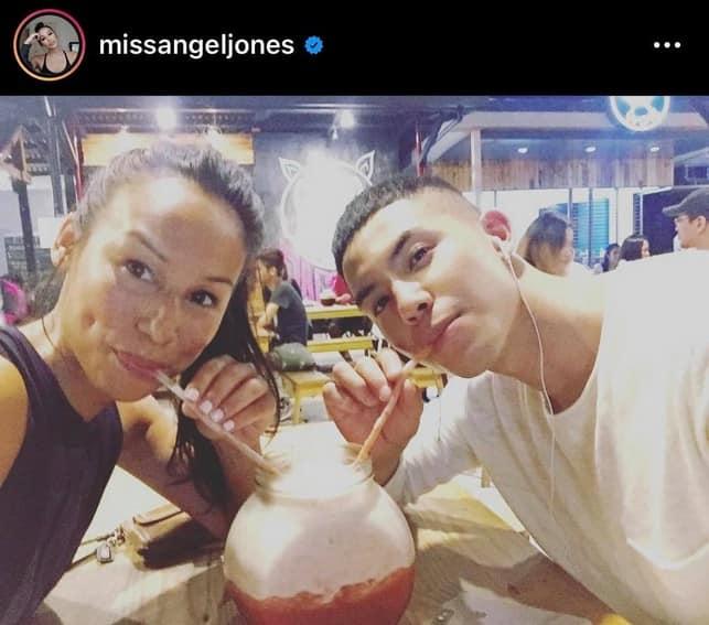 tony labrusca mother mommy parent Angel Jones ely Bagong Umaga