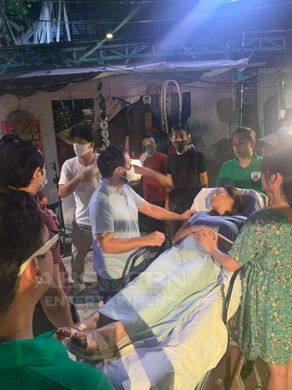 Bagong Umaga on the set behind the scenes last taping day finale