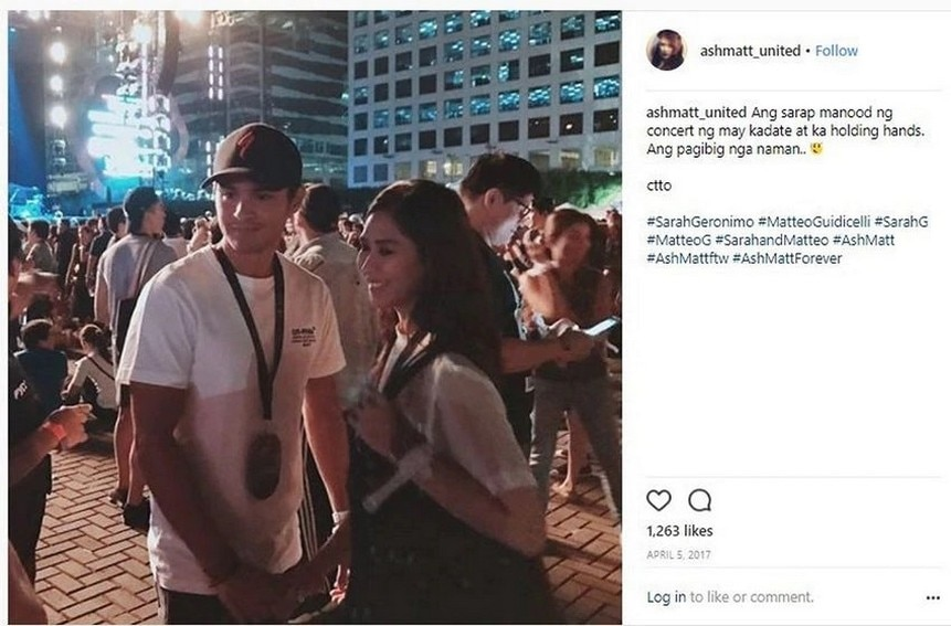 """Just photos of Matteo Guidicelli with his """"forever""""c"""