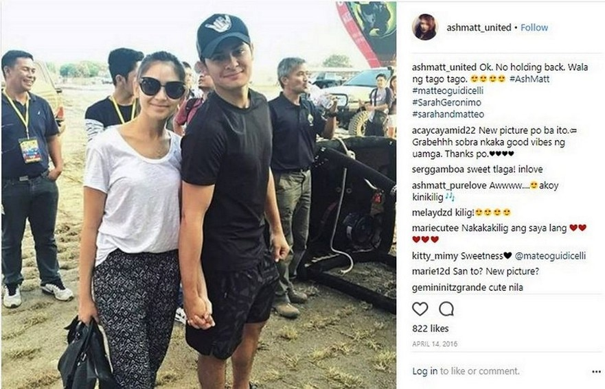 "LOOK: Just photos of Matteo Guidicelli with his ""forever"""