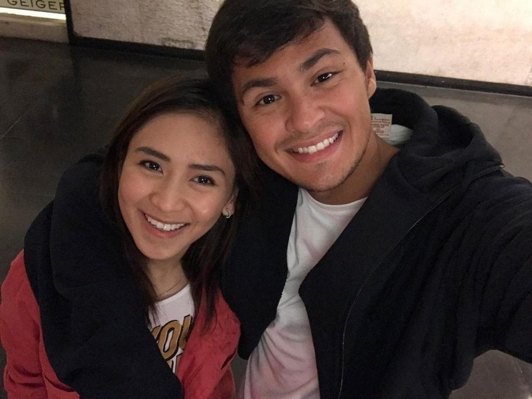 "Just photos of Matteo Guidicelli with his ""forever"""