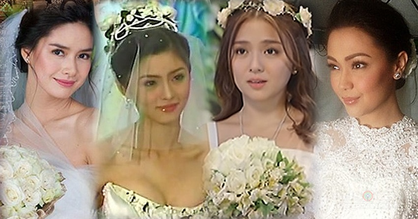 Photos of the most beautiful brides in Kapamilya teleseryes!