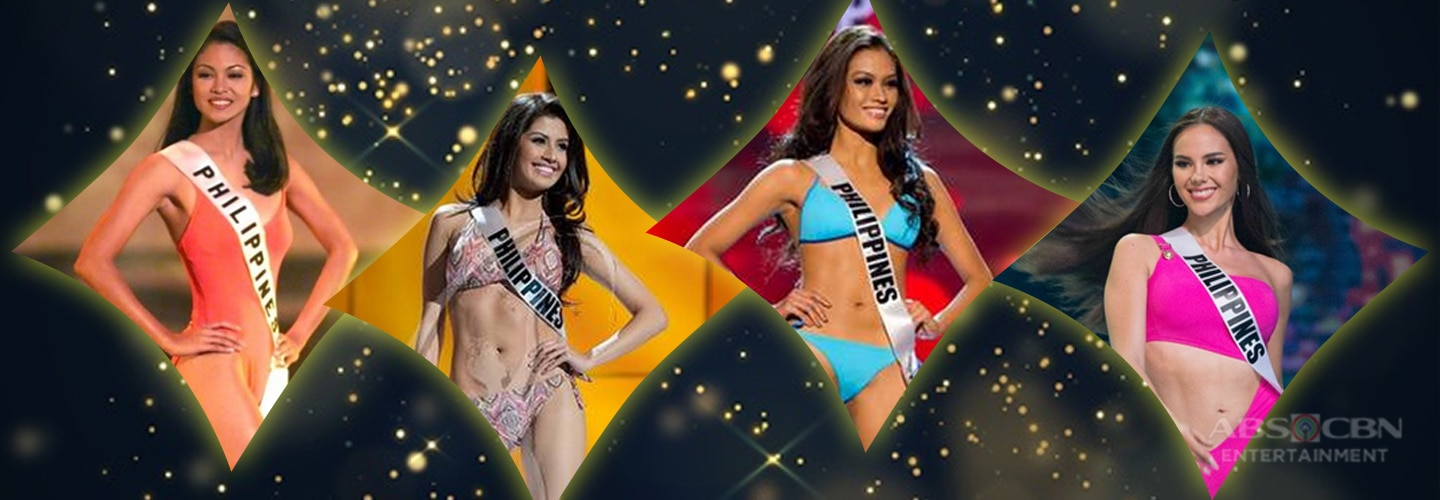 Philippine Miss Universe delegates in their stunning swimsuits