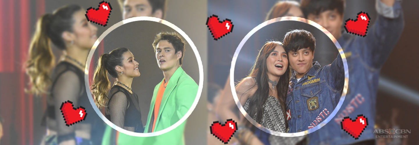 IN PHOTOS: Kapamilya love teams show undeniable kilig vibes in ABS-CBN Christmas Special 2019