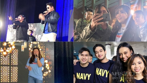Kapamilya stars, continue tribute to nation's heroes