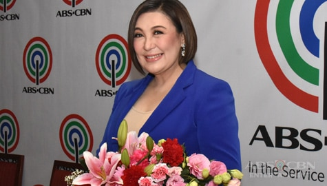 PHOTOS: Megastar Sharon Cuneta inks a new contract with ABS-CBN