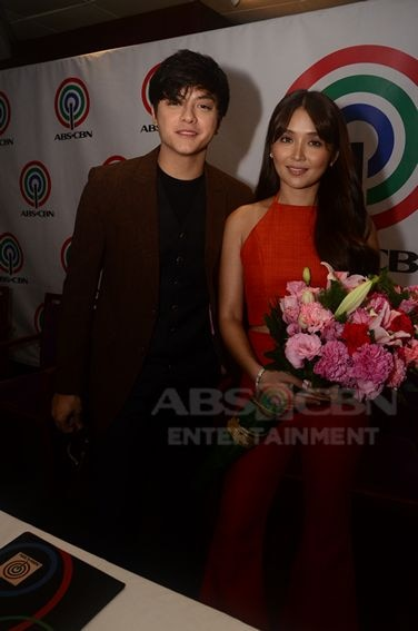 KathNiel inks their respective three year contracts with the Kapamilya Network