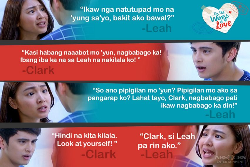 Unforgettable lines of Clark and Leah in OTWOL