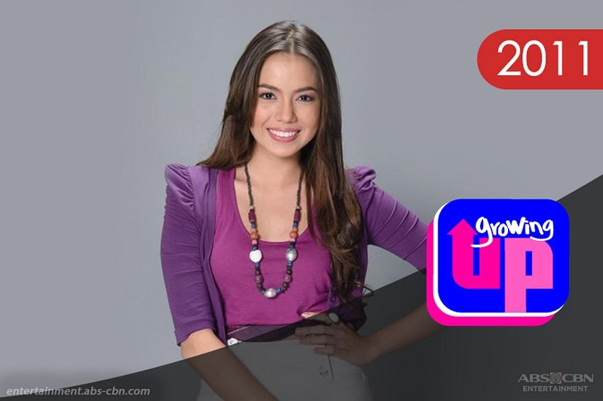 Julia Montes in Growing Up