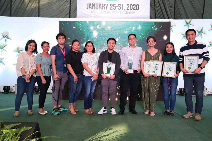 ABS-CBN was named Most Outstanding TV Network by Gawad Lasallianeta