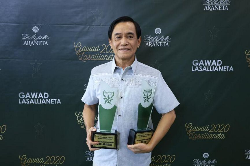 Gus Abelgas was named Most Oustanding Public Affairs Show Host for SOCO