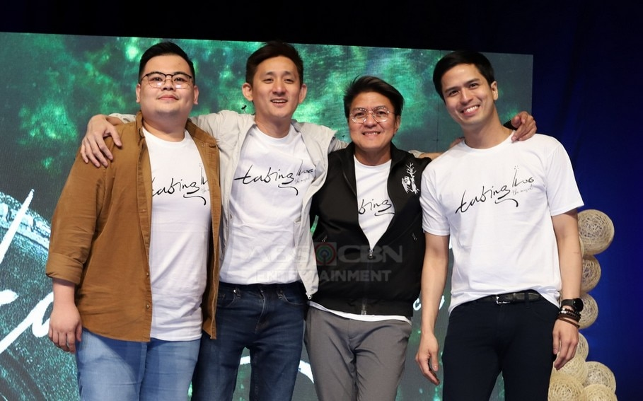 The artistic team of 'Tabing Ilog The Musical'