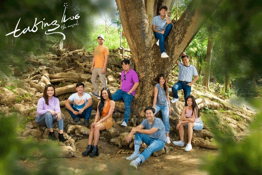The cast of Tabing Ilog The Musical