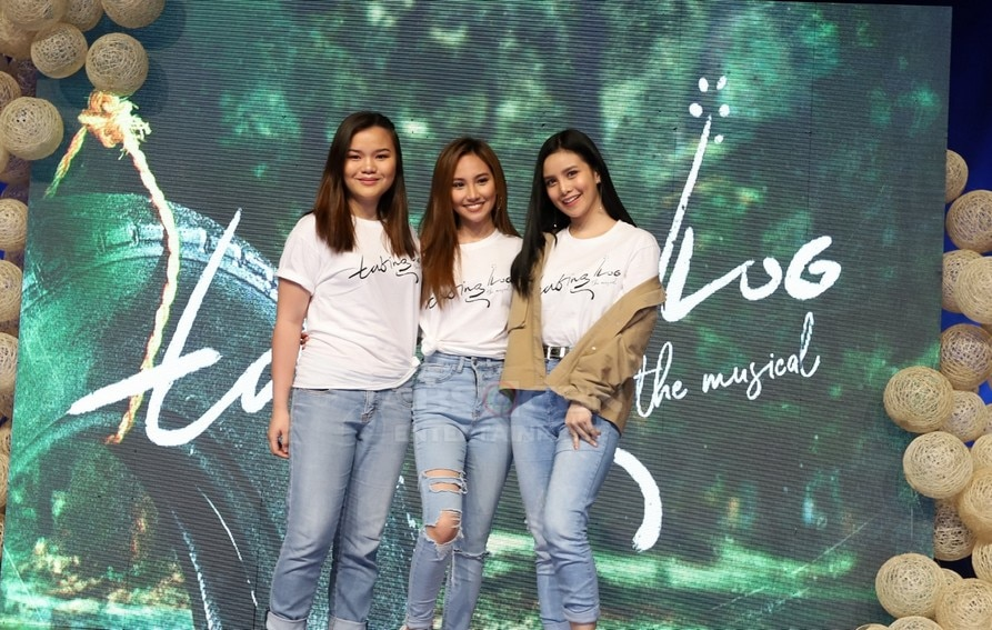 Abby Trinidad, Belle Delos Reyes, and Mia Canton will play George