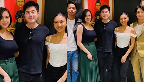 "Julia and Nadine join forces in upcoming series ""Burado"""
