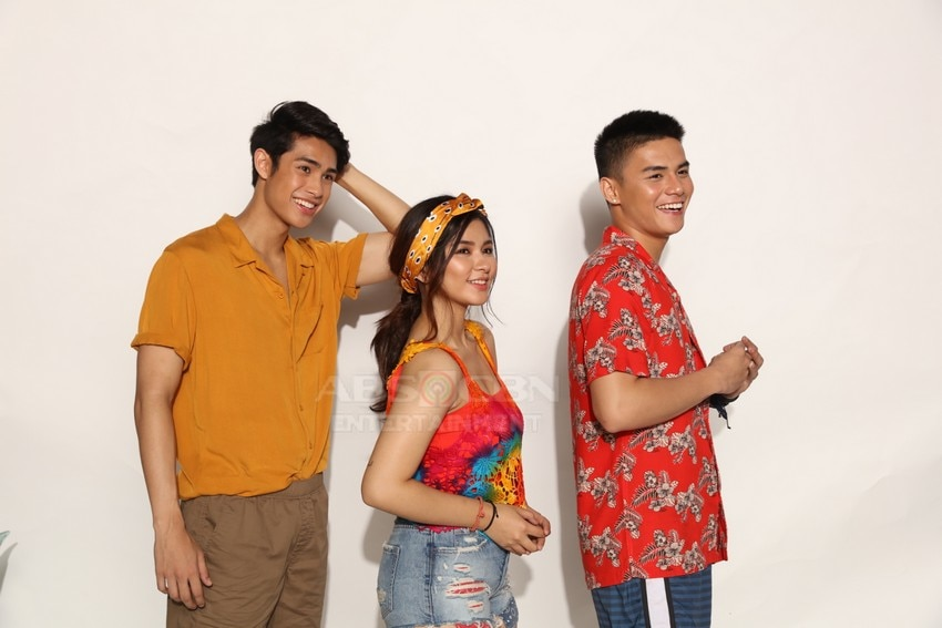 James & Pat & Dave stars Loisa, Ronnie and Donny
