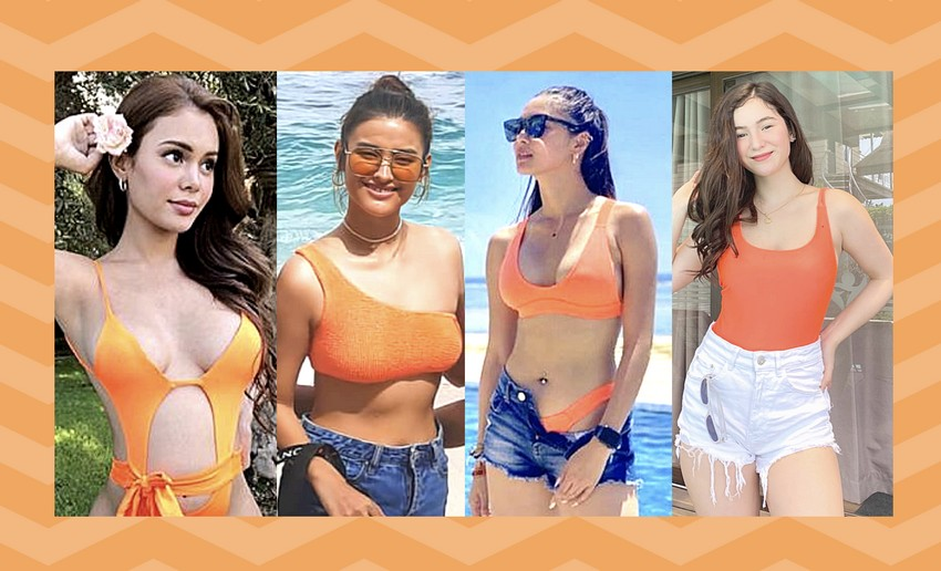 Check out these stunning Kapamilya ladies in neon bikinis!