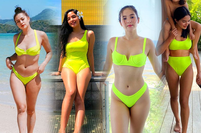 These Kapamilya celebrities will show you how to slay in NEON swimsuits this summer!