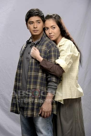 Coco Martin and Julia Montes in Ikaw Lamang (2014)
