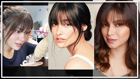 She bangs! These photos of Kapamilya stars might convince you to get the fringe!