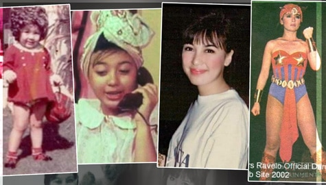 Sharon Cuneta's Throwback Photos