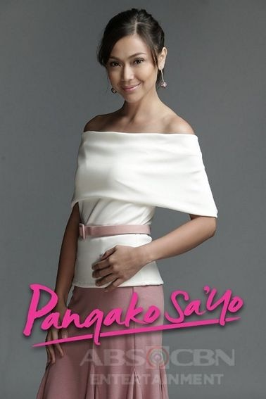 Jodi Sta Maria as Amor Powers in Pangako Sa'Yo (2015)