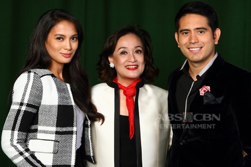 Isabelle Daza, Coney Reyes and Gerald Anderson in Nathaniel (2015)