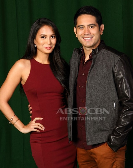 Isabelle Daza and Gerald Anderson in Nathaniel (2015)