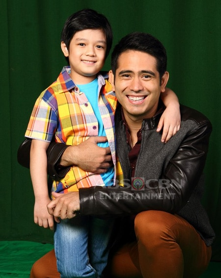 Gerald Anderson and Marco Masa in Nathaniel (2015)