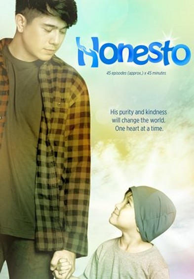 The official poster of Honesto (2013)