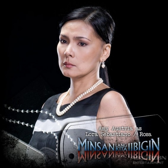 Amy Austria as Lora/ Rosa in Minsan Lang Kita Iibigin (2011)