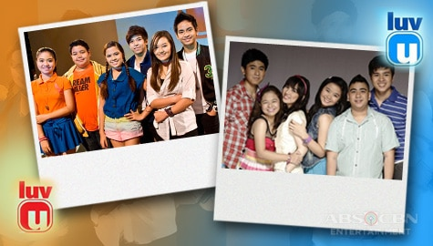 Throwback: 2012 and 2013 Pictorial photos Luv U barkada