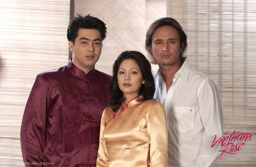 Maricel Soriano, John Estrada and Jay Manalo in Vietnam Rose (2005)