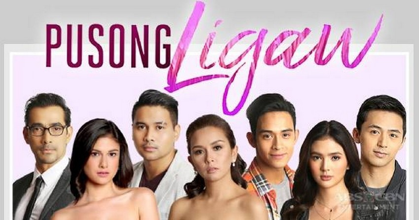 The lead stars of Pusong Ligaw (2017)