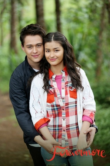 Liza and Enrique as Agnes and Xander in Forevermore (2014)