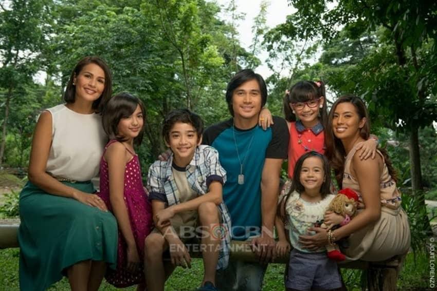 The lead stars of Hawak Kamay (2014)