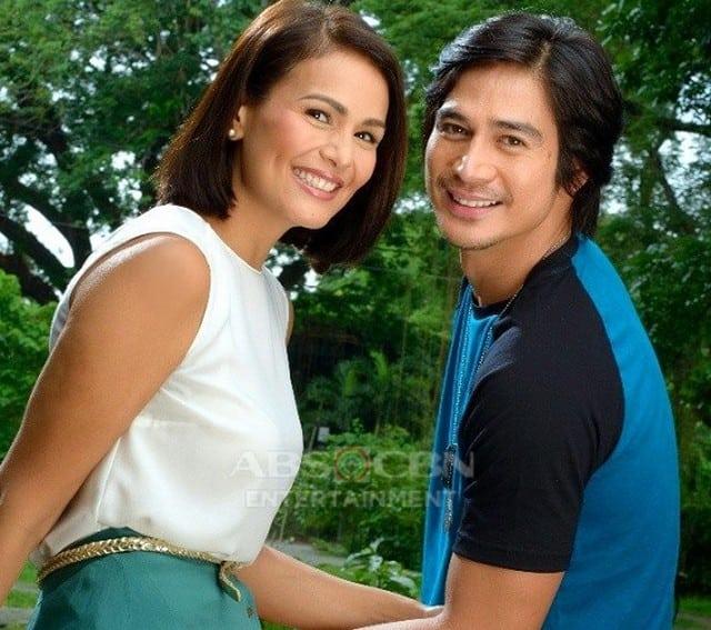 Piolo Pascual and Iza Calzado in Hawak Kamay (2014)