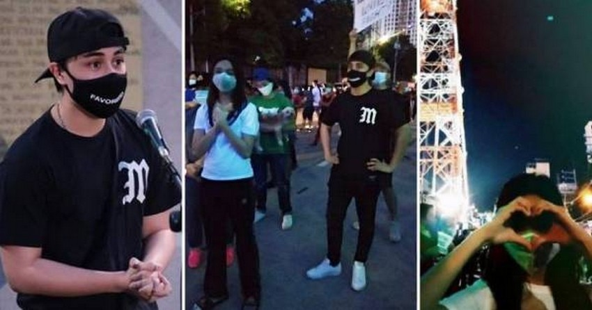 MAYMAY ENTRATA, EDWARD BARBER PARTICIPATE IN NOISE BARRAGE, PROTEST ACTION FOR ABS-CBN WORKERS
